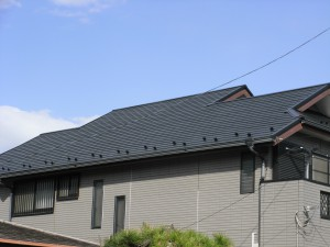千葉市M邸 コロニアル屋根塗装工事 施工後 2016年3月